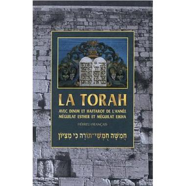 LA TORAH HEBREU avec annotations