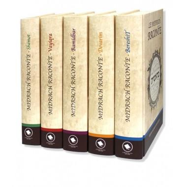 Le Midrach raconte - coffret 5 tomes