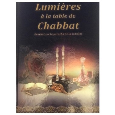 lumière a la table de chabbat