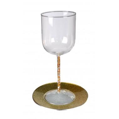 verre de kiddoush Glam Doré